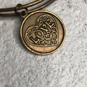 Wind & Fire Gold Bangle Bracelet